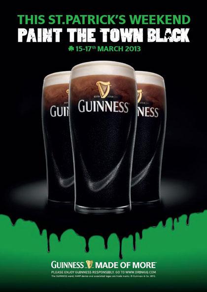 Guinness sărbătoreşte în stil irlandez în toată ţara