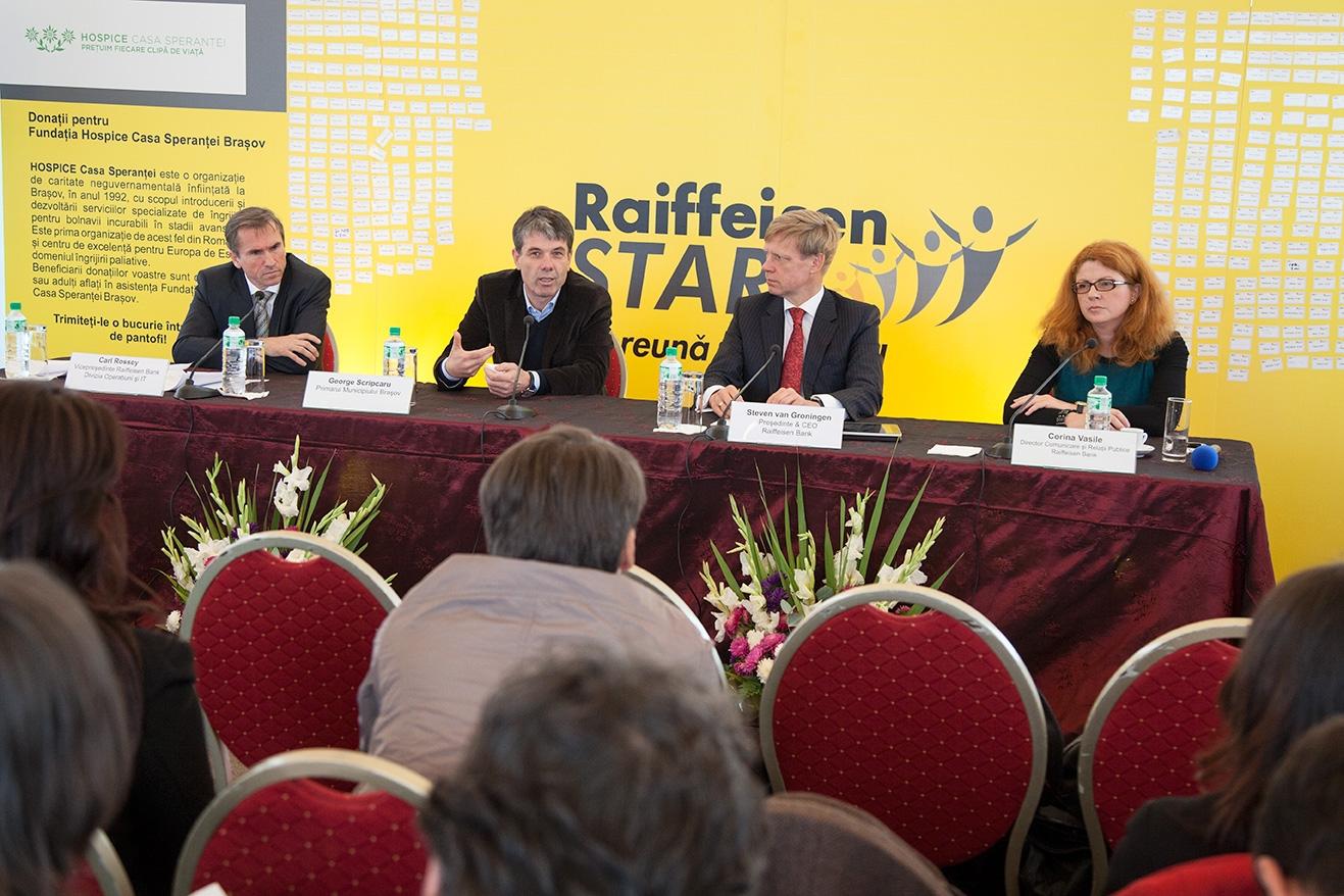Raiffeisen Bank a inaugurat Centrul Operaţional Braşov