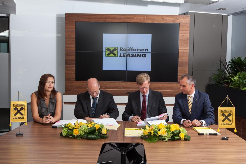 Raiffeisen Leasing creşte prin achiţii de portofoliu