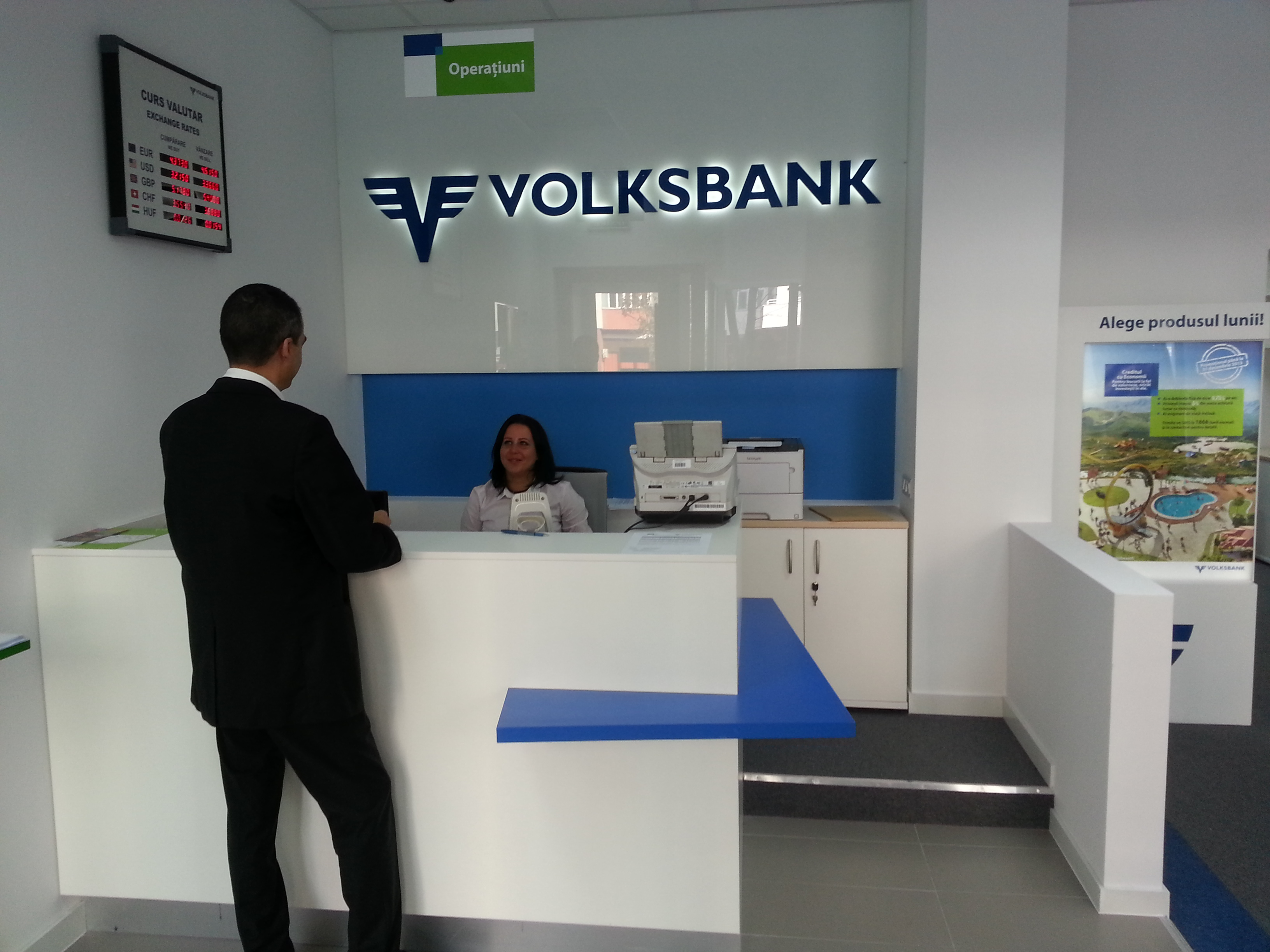 Volksbank deschide o nouă sucursală în Bucureşti