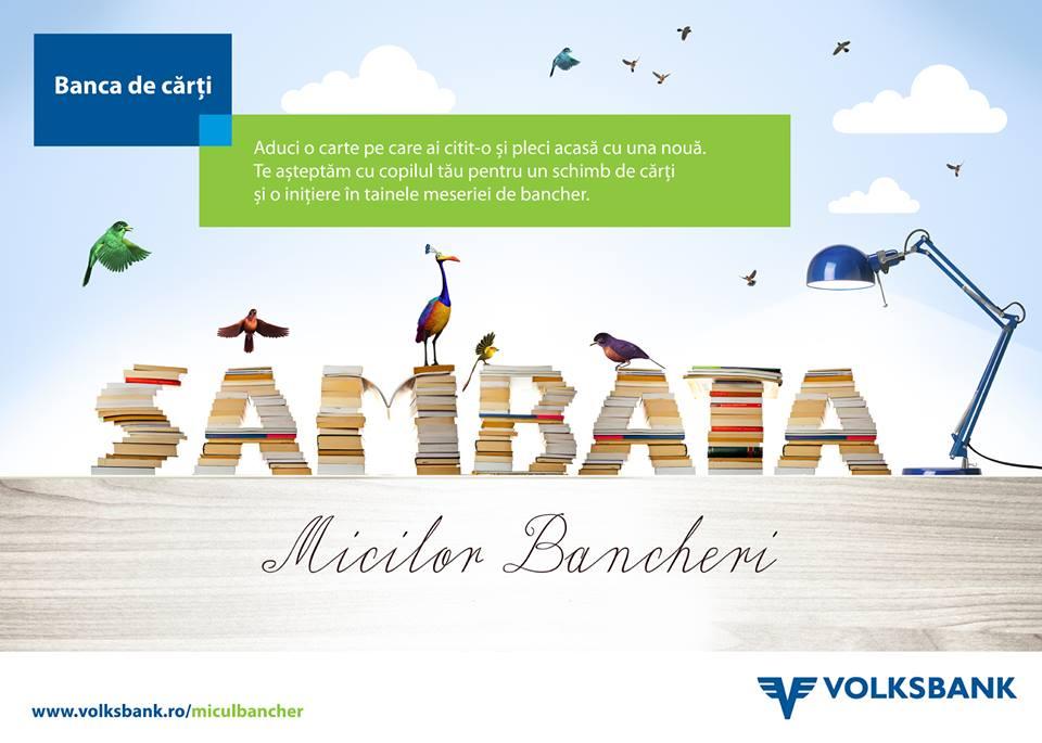 """Proiectul educaţional """"Sâmbăta Micilor Bancheri"""", organizat de Volksbank România, s-a încheiat"""