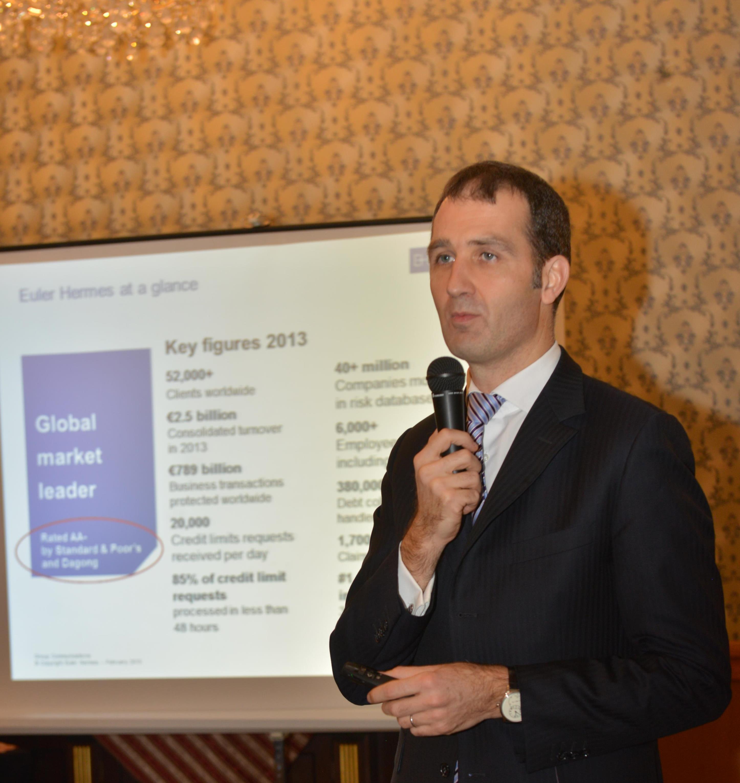 Euler Hermes previzionează o creştere de 2% a PIB şi deschide un birou în capitala Bulgariei