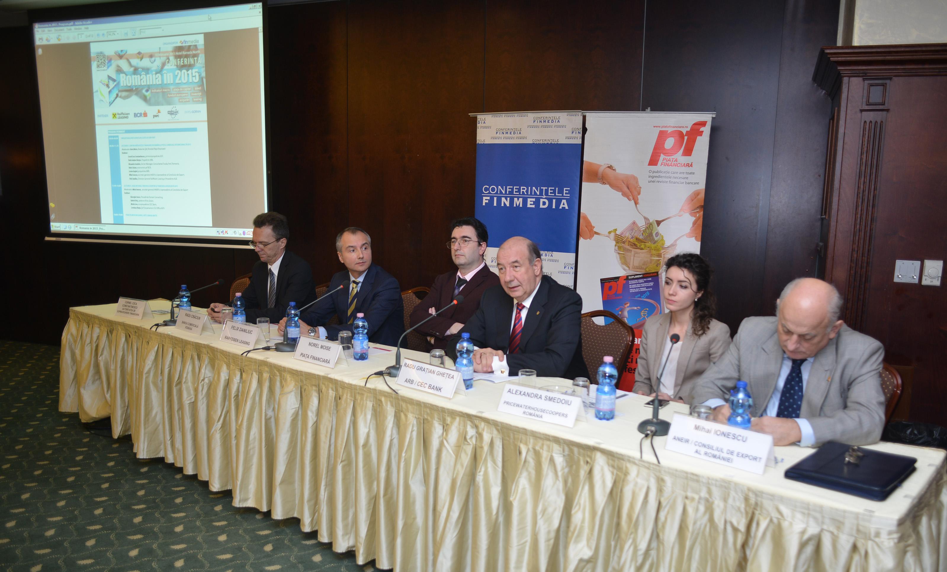 """Prognoze la început de an – """"România în 2015"""""""
