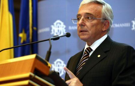 Mugur Isărescu, Guvernatorul BNR: Suntem încă departe de nivelul aşteptat al convergenţei reale