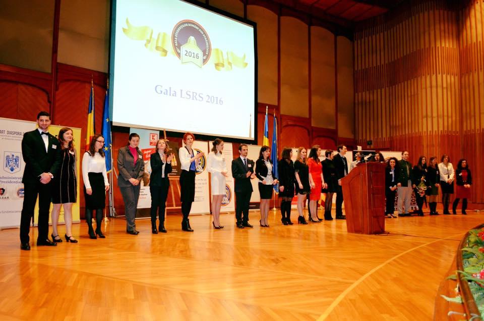 Studenţii români cu rezultate excepţionale au fost premiaţi în cadrul Galei LSRS