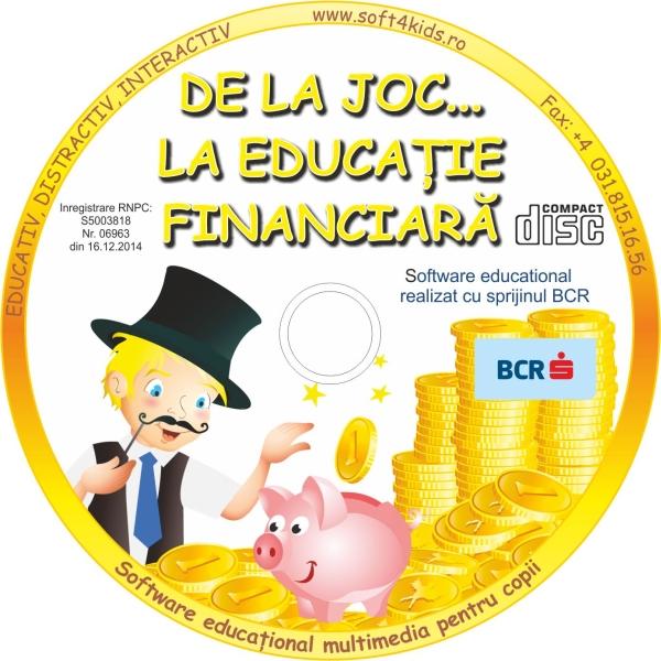 """BCR demarează programul dedicat copiilor preșcolari """"De la Joc la Educație Financiară"""""""