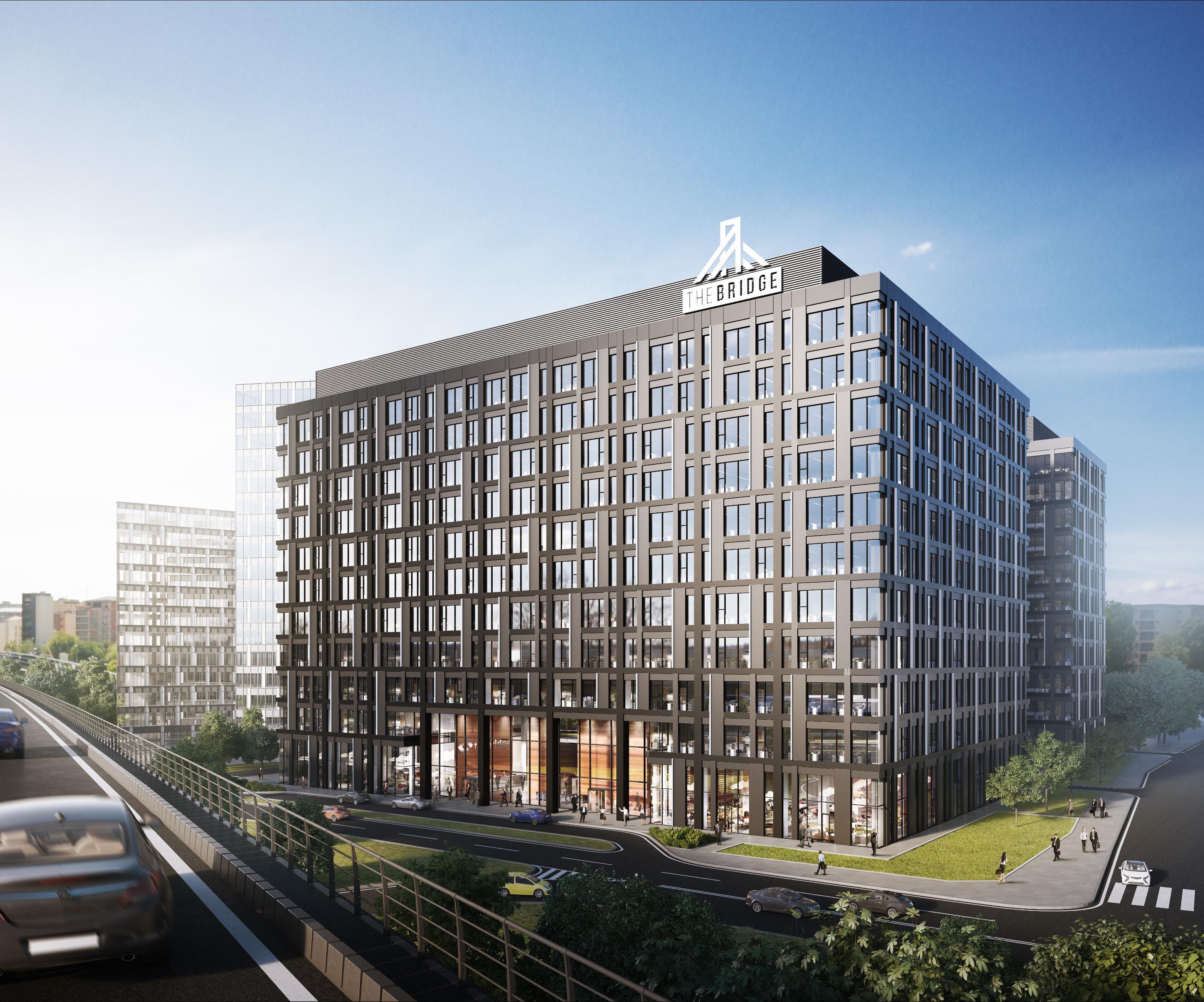 BCR îşi va muta o parte din sediul central în clădirea The Bridge
