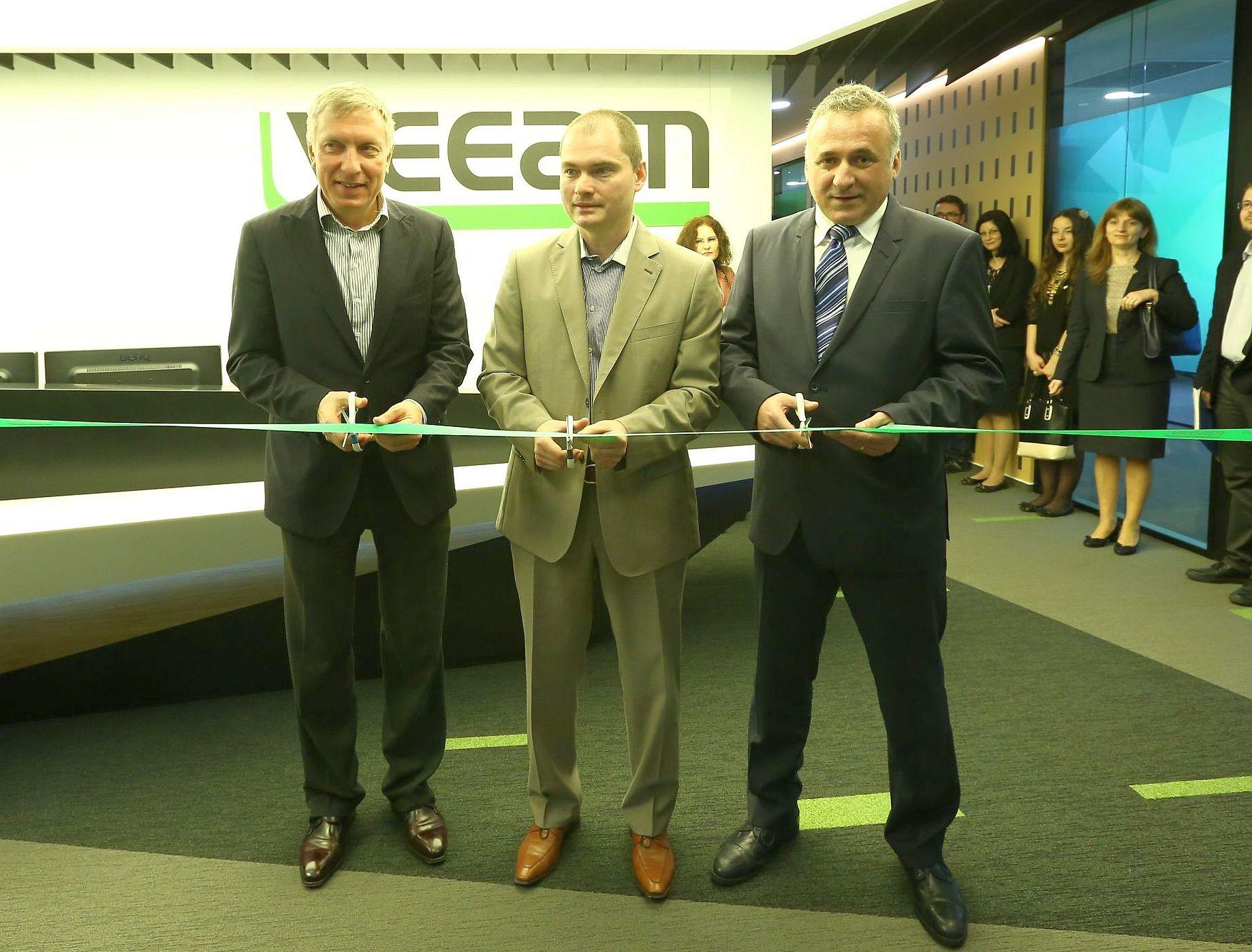 Veeam Software şi-a inaugurat oficial centrul din București