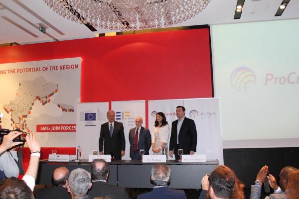 Salonic: ProCredit Bank a adus la aceeaşi masă 700 IMM din regiune