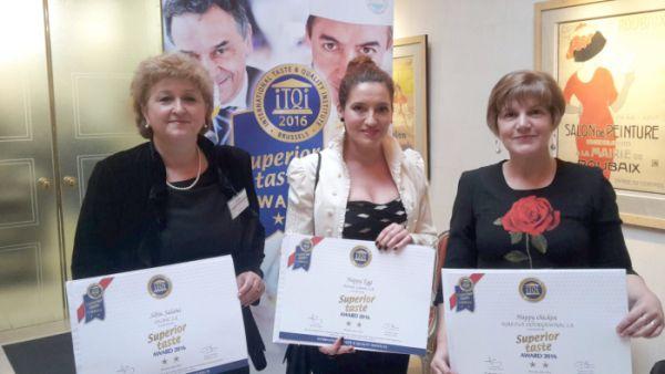 Trei produse AGRICOLA primesc stele de aur la Bruxelles
