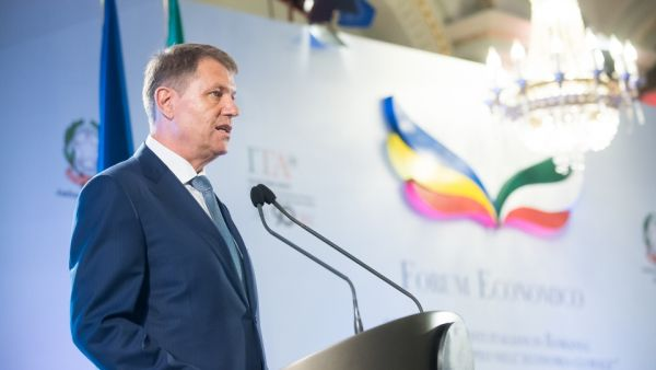 """Mesajul preşedintelui Klaus Iohannis către investorii italieni: """"Aveţi încredere în economia României!"""""""