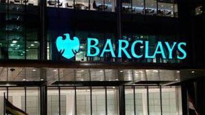 Profit redus la jumătate la Barclays în trimestrul doi