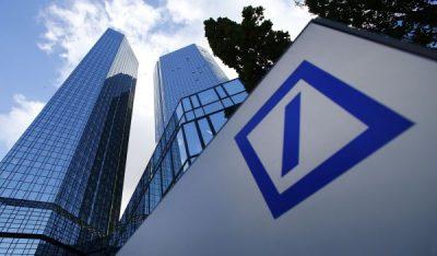 Deutsche Bank: Profit net redus cu aproape 100% în trimestrul doi