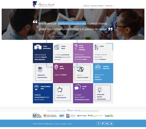 Zi mare la Bursă! BVB a lansat cea mai mare platformă educaţională din România