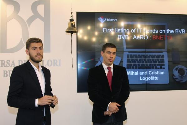 Obligaţiunile companiei Bittnet au debutat pe piaţa AeRO
