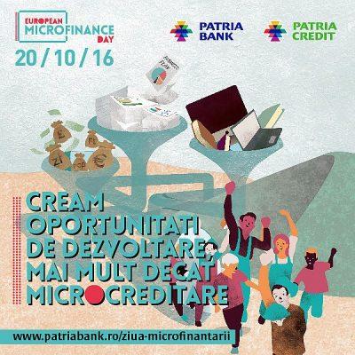 Grupul Patria celebrează Ziua Microfinanţării