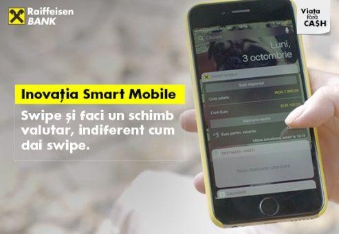 Raiffeisen Bank continuă să inoveze în serviciile de plăţi online
