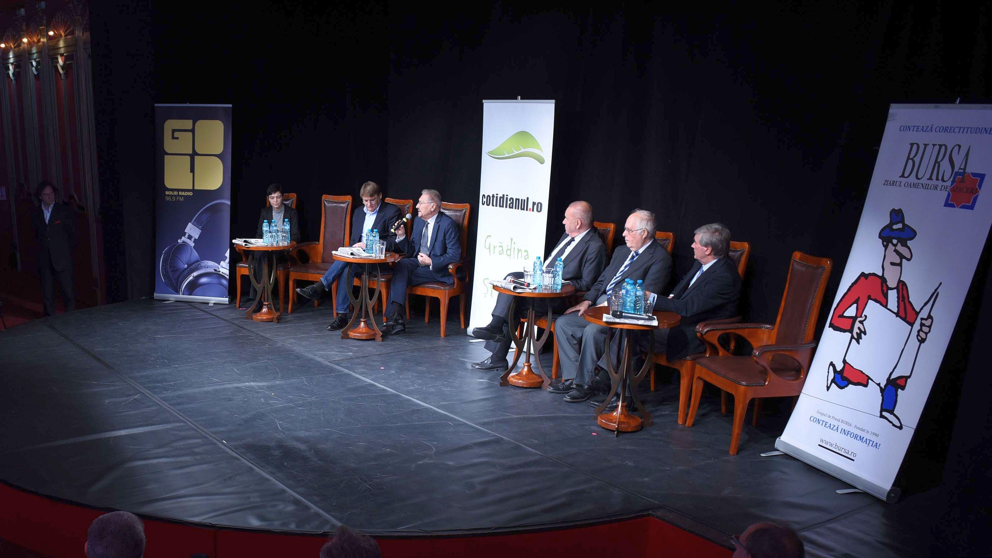 Cotidianul.ro a organizat o dezbatere despre blocajul României şi reconcilierea naţională
