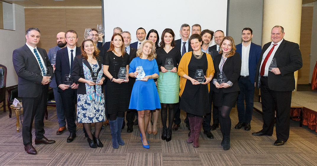 eFinance a acordat premiile pentru performanţele din anul 2016 în cea de-a 12-a ediţie a Galei sale