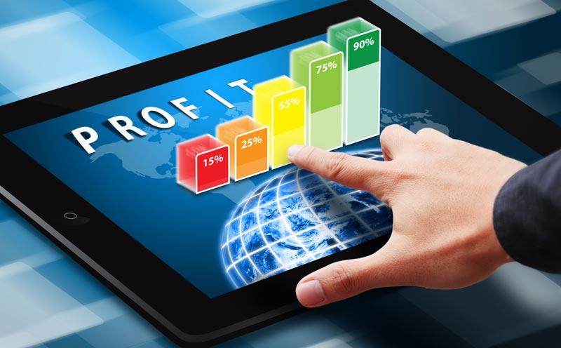TOP 1000 companii din Romania dupa valoarea profitului pe 2015