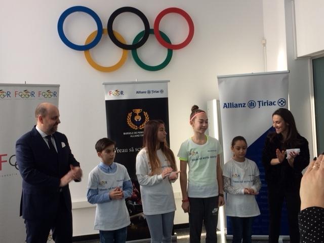 Fundația Olimpică Română și Allianz – Țiriac Asigurări lansează a treia ediție a programului Bursele de performanță Allianz – Țiriac