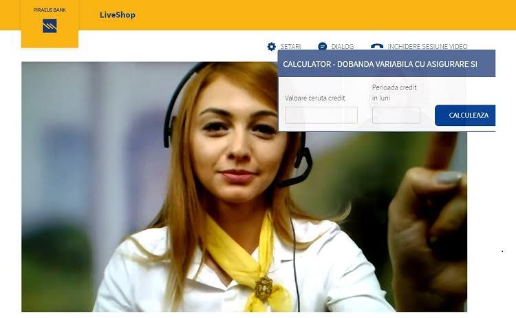 Piraeus Bank România lansează primul serviciu care permite achiziţionarea  produselor bancare online