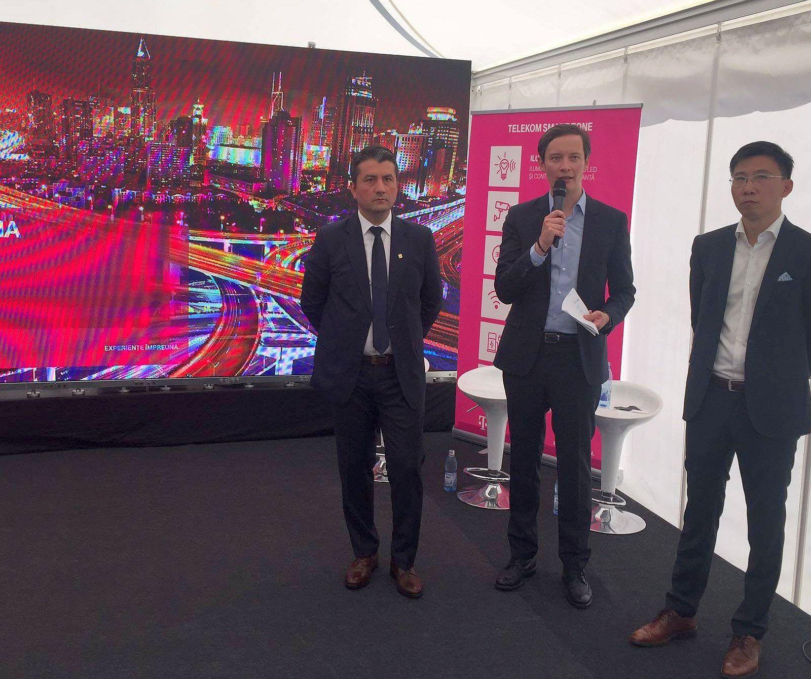 Telekom Romania a lansat în Constanța un nou proiect-pilot de tip Smart City