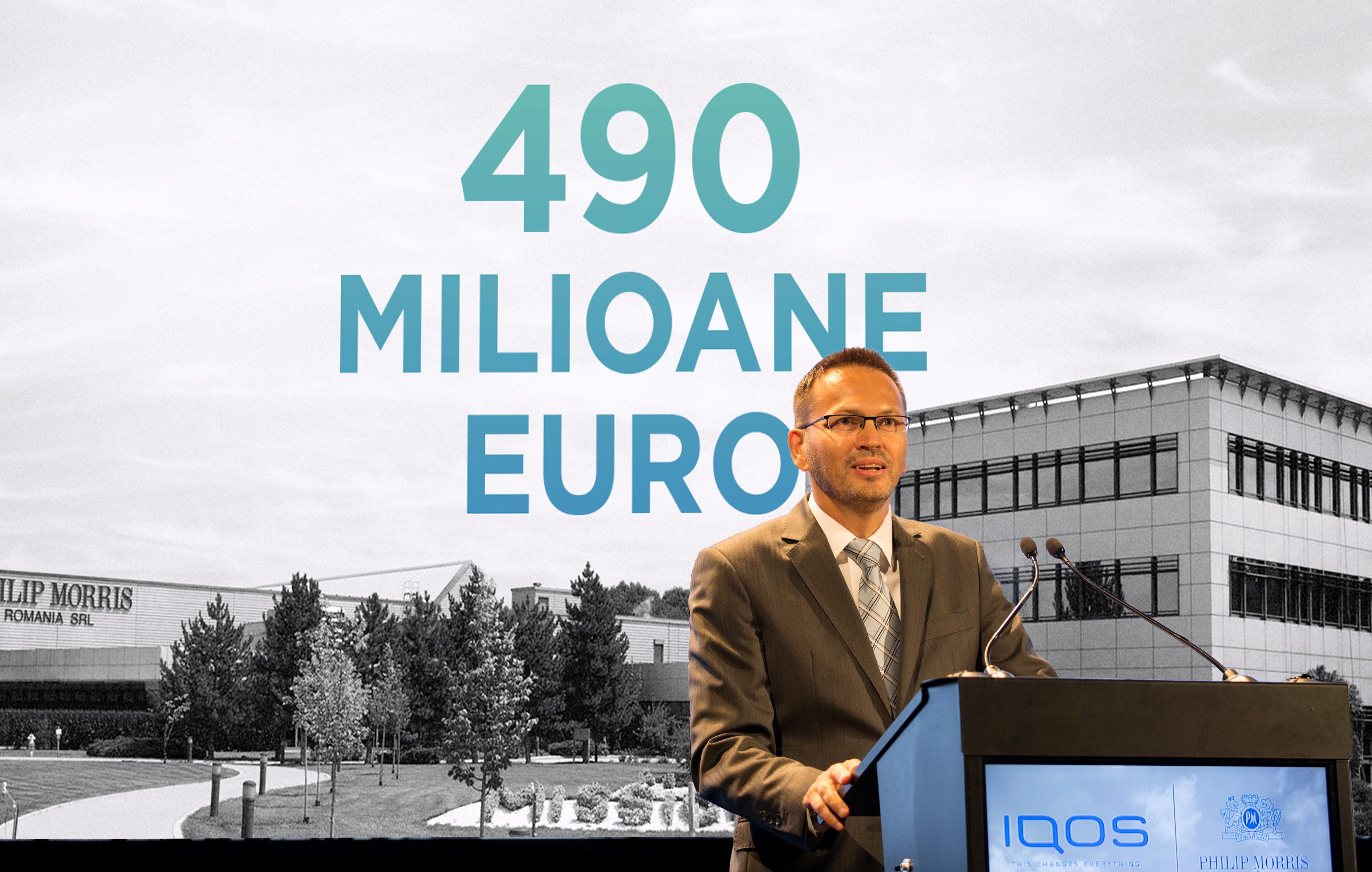 Philip Morris International anunță investiții de 490 de milioane de euro şi 300 de noi locuri de muncă