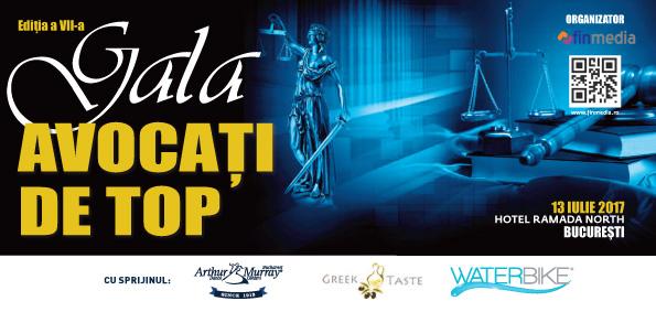 Gala Avocati de TOP 2017