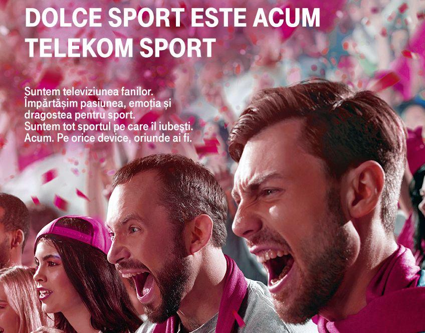 Dolce Sport devine Telekom Sport
