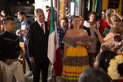 Ziua Națională a Mexicului a fost sărbătorită la Bucureşti în noua locaţie a lanţului El Torito