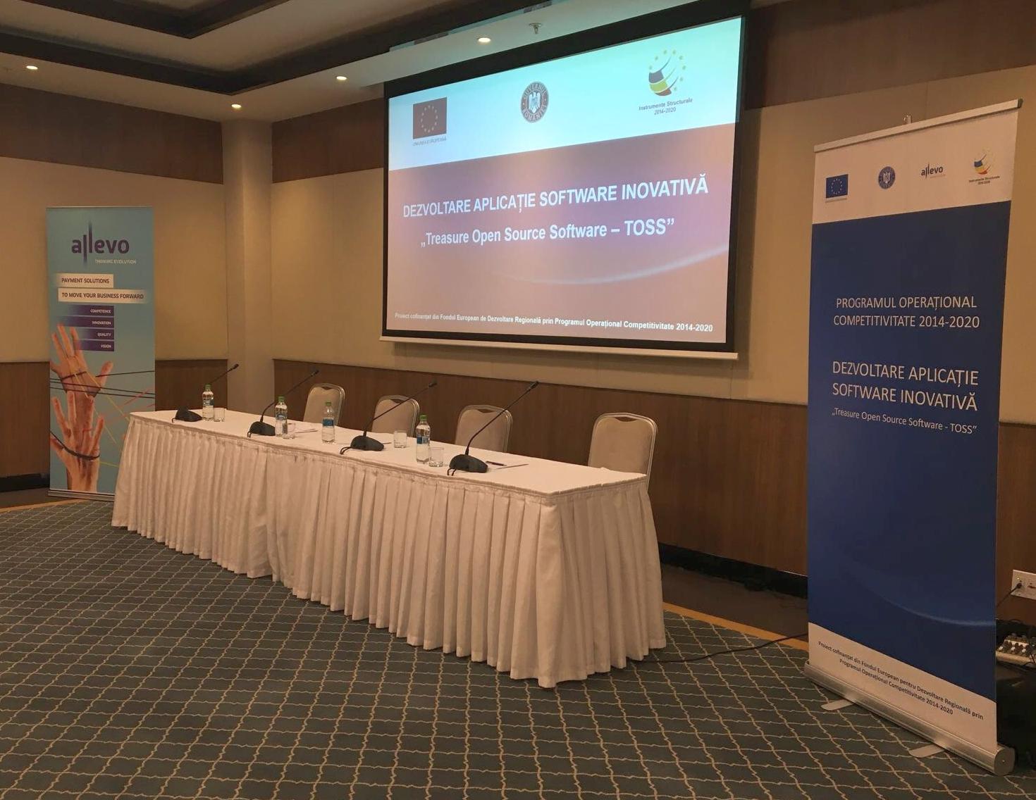 Allevo a organizat în Chișinău prima conferință internațională din cadrul proiectului său de prelucrare a tranzacțiilor pentru IMM-uri și corporații