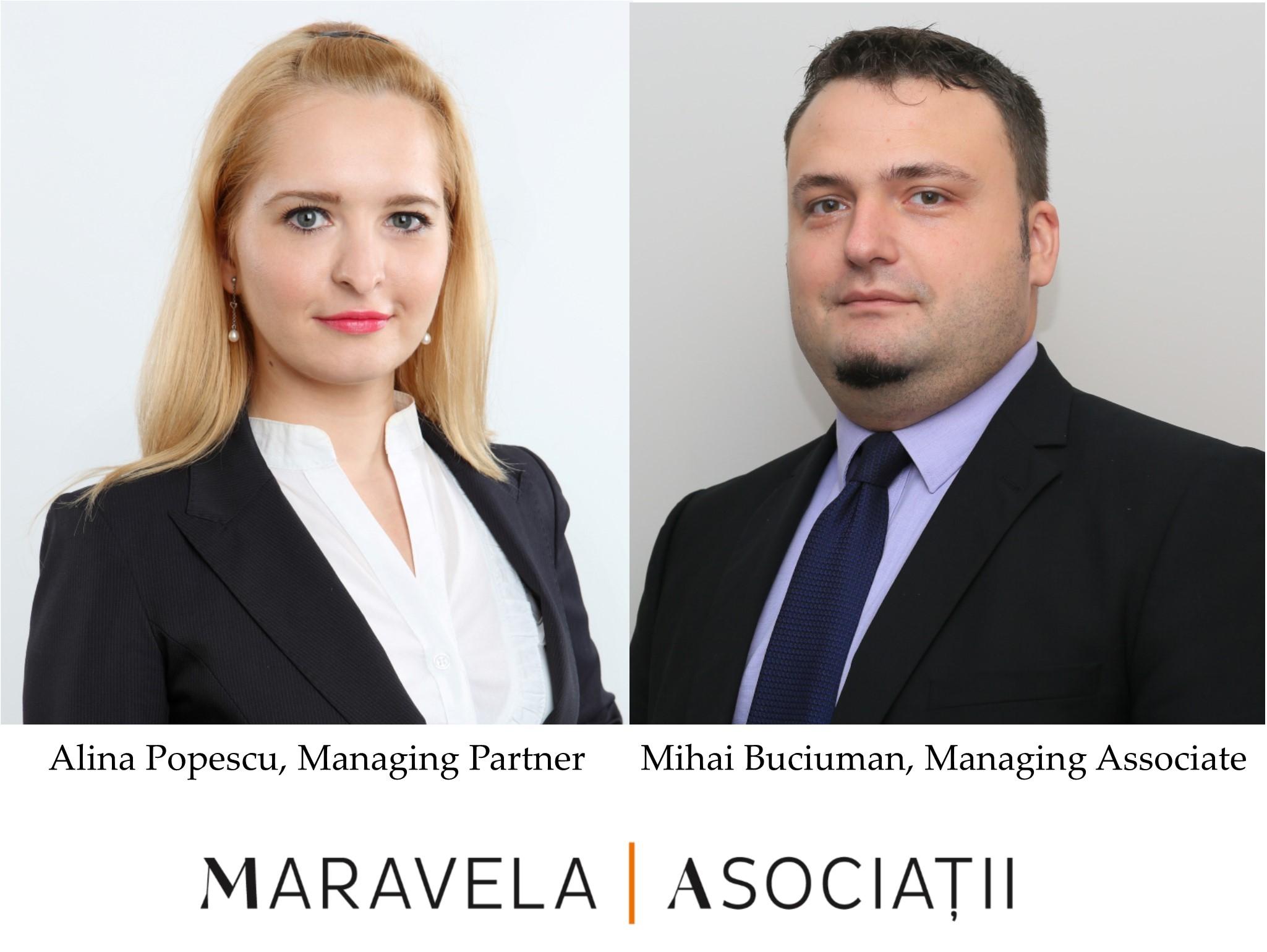 Departamentul de data protection al Maravela|Asociaţii recunoscut pe piața de profil