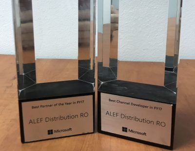 ALEF Distribution RO este Microsoft Country Partner of the Year 2017