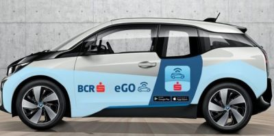 Car-sharing prin card bancar contactless: BCR lansează eGo