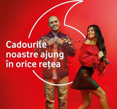 Cartela Vodafone oferă bonusuri utilizatorilor serviciilor de date mobile, indiferent de rețea