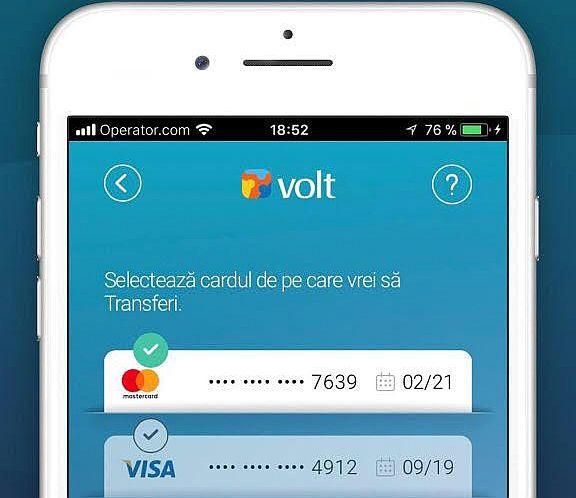 Volt Finance, Libra Internet Bank și Mastercard, lansează VOLT, prima aplicație de transfer de bani în sistem P2P din România