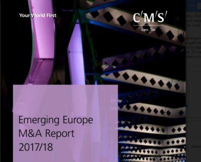 În 2017, Europa emergentă a depășit nivelul de 2.000 de contracte de fuziuni și achiziții. Investițiile Chinei au crescut cu 78%
