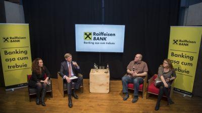 Raiffeisen Bank îşi schimbă poziționarea de brand printr-o campanie-manifest