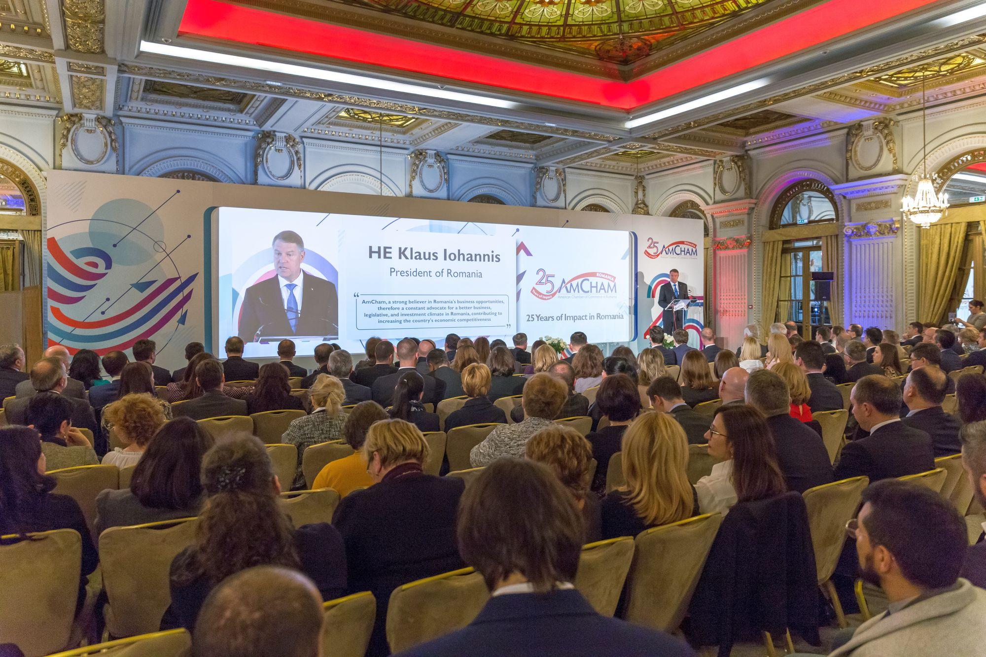 Camera de Comerț Americană în România (AmCham) a aniversat 25 de ani de existență