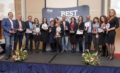 Ediția 2017 a sondajului de engagement organizat de Aon România, celebrată prin evenimentul de nominalizare a companiilor Best Employer
