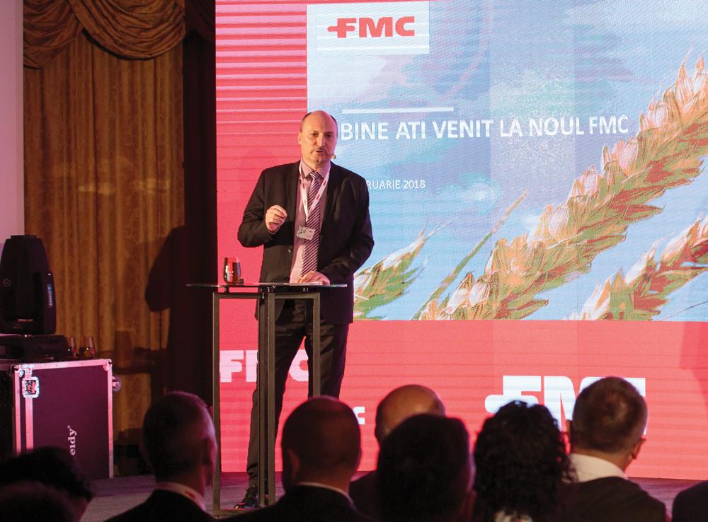 Noutatea companiei FMC este că a intrat în liga companiilor care cercetează şi inovează