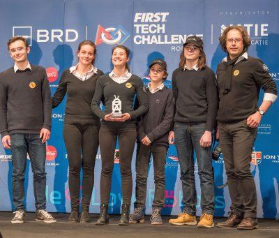 Echipa Transilvania Robotix din Cluj-Napoca participă la Maryland Tech Invitational cu sprijinul BRD
