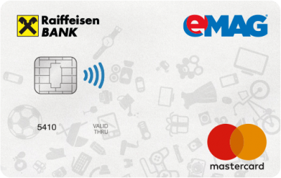 Peste 10.000 de carduri de cumpărături eMAG – Raiffeisen Bank sub sigla Mastercard