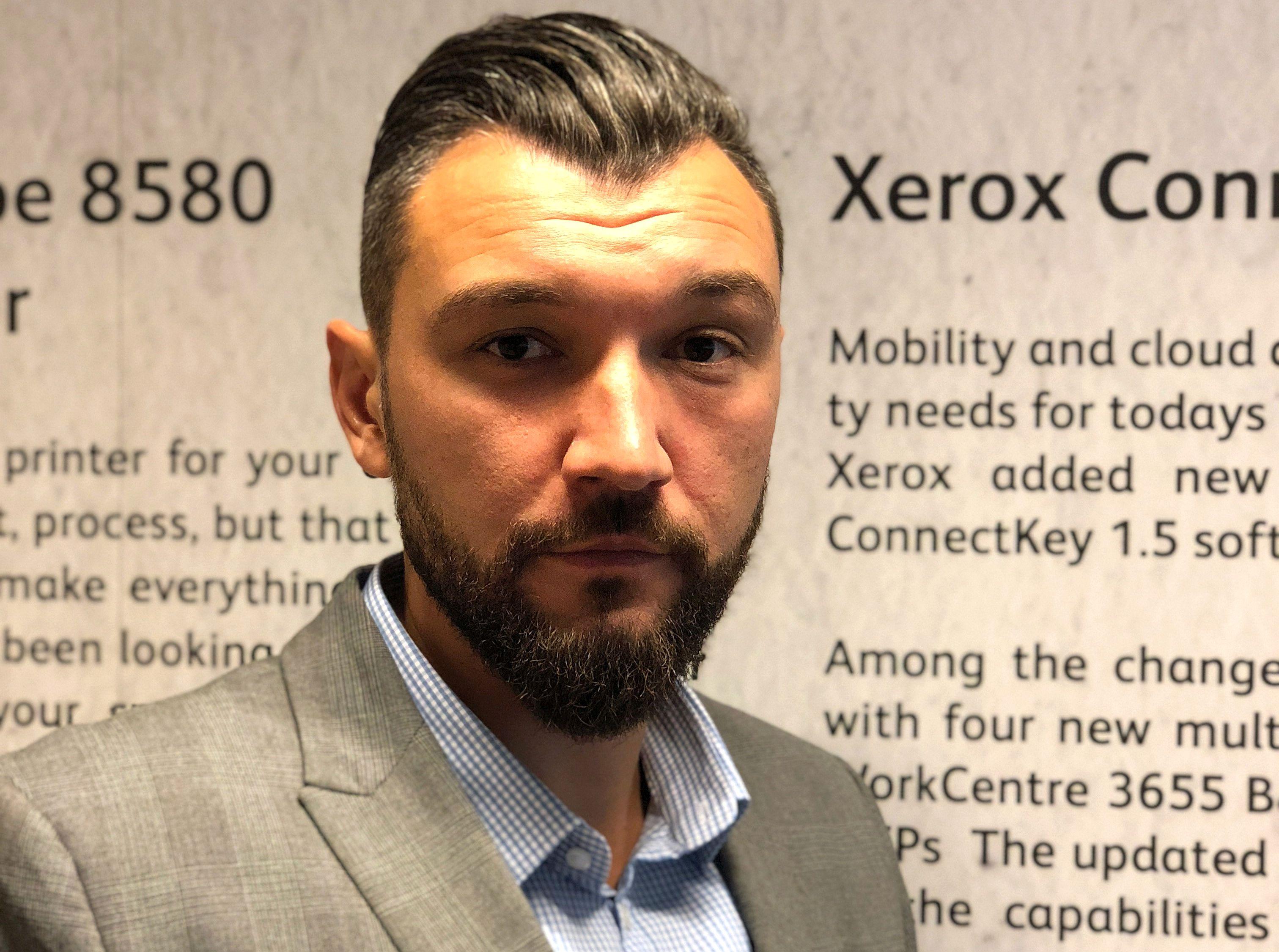 Cristian Berea, noul Channels Director Xerox România