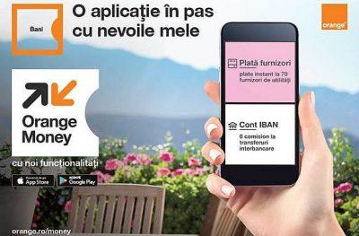 Orange Money vine cu noi facilități pentru clienții săi