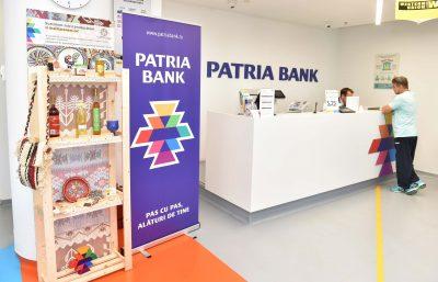 Micii producători îşi vor expune produse tradiţionale româneşti în sucursalele Patria Bank