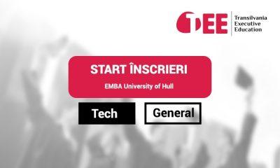 Executive MBA Universitatea Hull, şcoala de business 100% britanică din Cluj-Napoca, lansează specializarea Tech EMBA
