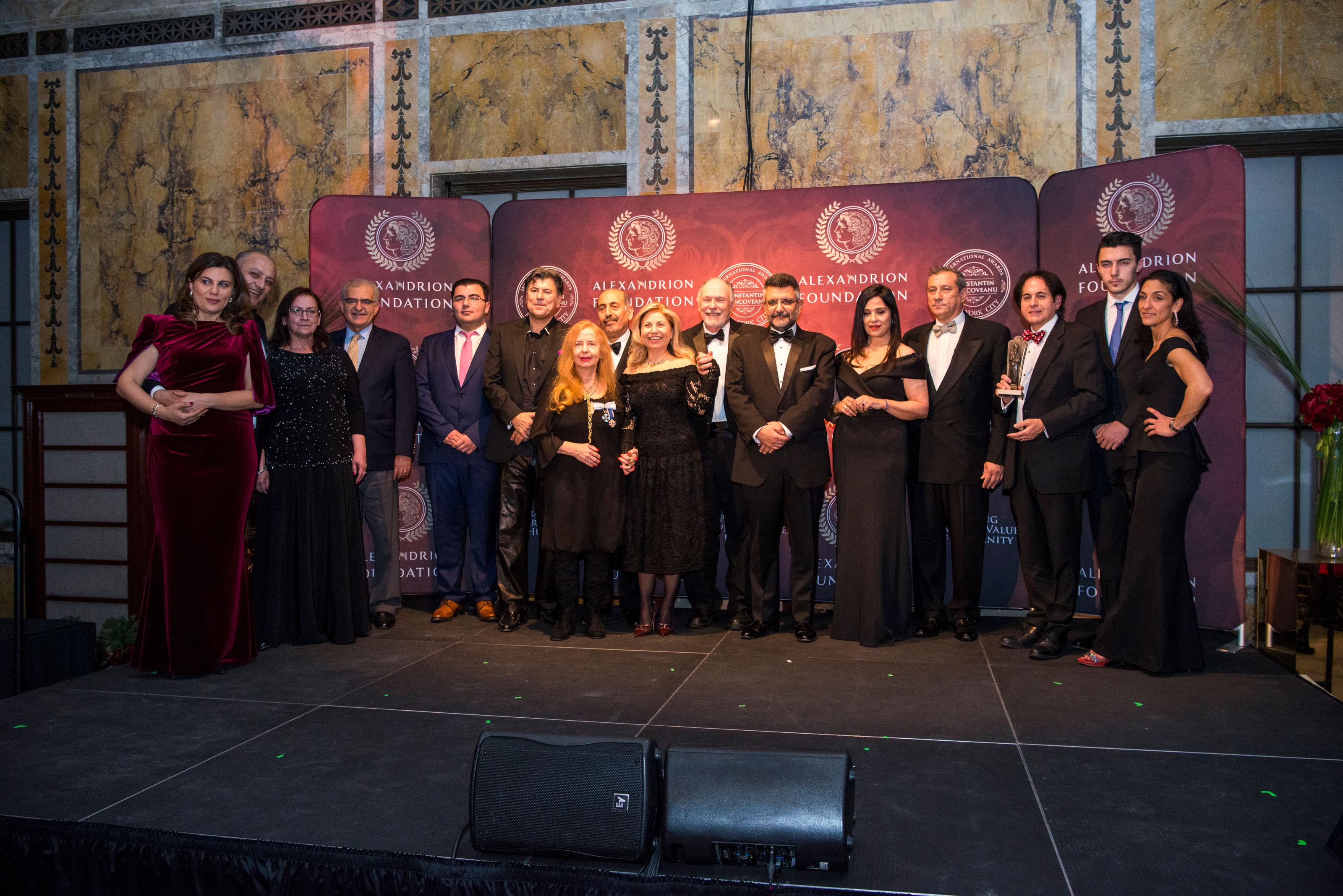 Fundația Alexandrion a decernat pentru prima dată Premiile Internaționale Constantin Brâncoveanu în Statele Unite