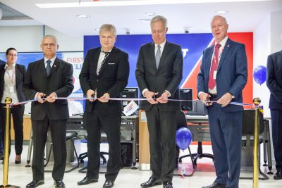 FIRST BANK a inaugurat prima sa sucursală sub noua identitate de brand